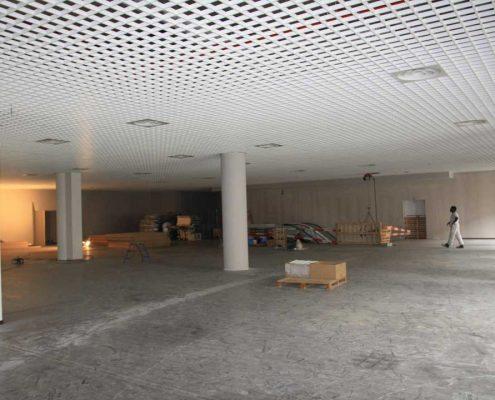 Plafond-métallique